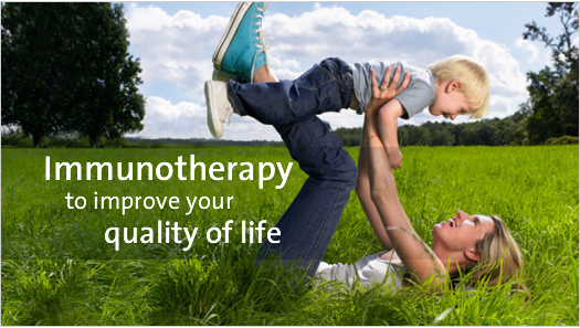 Immunotherapy to improve your quality of life